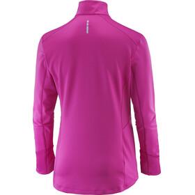 Salomon Trail Runner Warm Mid Shirt Women rose violet